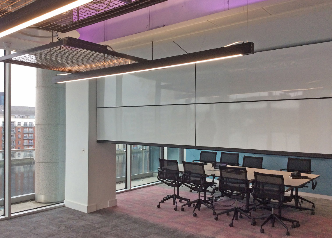 Compu Site Skyfold Vertical Acoustical Operable Walls